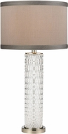 ELK Home D4061 Chaufer Polished Nickel / Clear Table Lamp