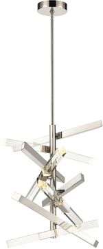 ELK Home D4209 Evenfall Contemporary Polished Chrome LED Pendant Lighting