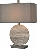 ELK Home D4232 Vermouth Dark Dunbrook / Grey Stone Table Lamp