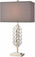 ELK Home D4287 Icy Reception Clear / Chrome Table Top Lamp