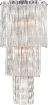 ELK Home D4296 Diplomat Contemporary Clear / Chrome Lighting Sconce