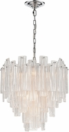 ELK Home D4297 Diplomat Modern Clear / Chrome 21.5  Pendant Light Fixture