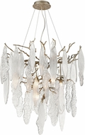 ELK Home D4299 The Shrub Modern Clear / Antique Silver LED Hanging Pendant Lighting