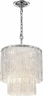 ELK Home D4301 Diplomat Modern Clear / Chrome Pendant Hanging Light