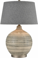 ELK Home D4303 Event Grey / Off-white / Pewter Lighting Table Lamp
