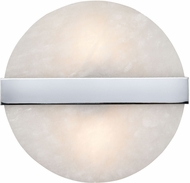 ELK Home D4352 Stonewall Modern White / Chrome Halogen Lighting Wall Sconce