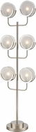 ELK Home D4358 Zoetrope Modern Polished Nickel / Clear / Chrome Light Floor Lamp