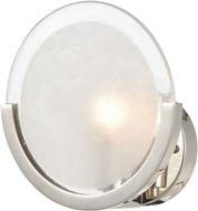 ELK Home D4359 Zoetrope Contemporary Polished Nickel / Clear / Chrome Wall Sconce Lighting
