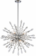 ELK Home D4377 Starbound Polished Chrome / Clear 27  Pendant Light