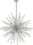 ELK Home D4378 Starbound Chrome / Clear 35  Lighting Pendant