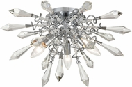 ELK Home D4379 Starbound Chrome / Clear Ceiling Light Fixture
