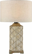ELK Home D4388 Sloan Brown / Grey / Antique White Side Table Lamp