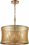 ELK Home D4432 Correspondence Gold Drum Pendant Lighting