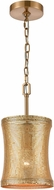 ELK Home D4434 Correspondence Gold Mini Drum Pendant Light
