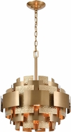 ELK Home D4436 Case the Joint Modern Satin Brass Lighting Pendant