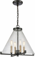 ELK Home D4437 The Holding Modern Matte Black Pendant Lamp