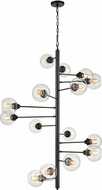 ELK Home D4446 Composition Contemporary Oil Rubbed Bronze Chandelier Lighting