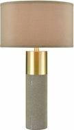 ELK Home D4502 Tulle Contemporary Brown Table Top Lamp