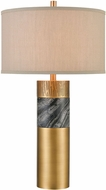 ELK Home D4503 Reinhold Contemporary Aged Brass Side Table Lamp