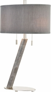 ELK Home D4505 Lean On Me Contemporary Gray Marble Table Light