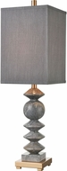 ELK Home D4508 Grey Charles Contemporary Gray Marble Table Lamp Lighting