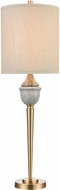 ELK Home D4515 Henley Contemporary Gray Marble Table Lamp Lighting