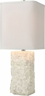 ELK Home D4526 Shivered Stone White Table Top Lamp