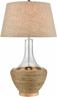 ELK Home D4561 Twined Modern Clear Table Lamp Lighting