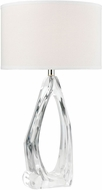 ELK Home D4598 Clarity Contemporary Clear Side Table Lamp