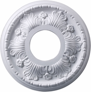 ELK M1000WH Acanthus White 11 Inch Medallion