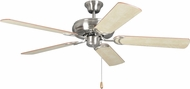 Craftmade DCF52BNK5 Decorator's Choice Brushed Polished Nickel 52  Ceiling Fan