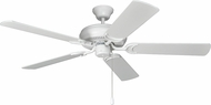 Craftmade DCF52MWW5 Decorator's Choice Matte White 52  Ceiling Fan