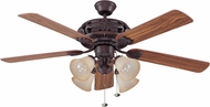 Craftmade GD52ABZ5C Grandeur Aged Bronze Brushed 52  Ceiling Fan