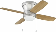 Craftmade LAVH52BP4 Laval Hugger Brushed Pewter Fluorescent 52  Ceiling Fan