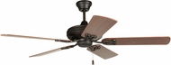 Craftmade MAJ52ABZ5 Majestic Aged Bronze Brushed Fluorescent 52  Home Ceiling Fan