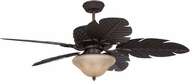 Craftmade PAP52ABZ5RCDI Pineapple Aged Bronze Brushed Halogen Exterior 52  Ceiling Fan