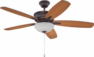 Craftmade PNB52OBG5 Penbrooke Oiled Bronze Gilded LED 52  Home Ceiling Fan
