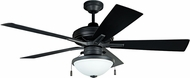 Craftmade RVF52ABZ5 Riverfront Modern Aged Bronze Brushed Halogen Exterior 52  Home Ceiling Fan