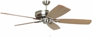 Craftmade SUA62BNK5 Supreme Air Brushed Polished Nickel Halogen 62  Ceiling Fan