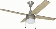 Craftmade UBW48BC4C1 Wakefield Contemporary Brushed Chrome 48  Ceiling Fan