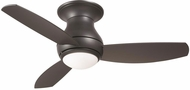 Emerson Ceiling Fans CF144GRT Curva Sky Contemporary Graphite Halogen Indoor / Outdoor 44  Ceiling Fan