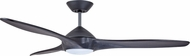 Emerson Ceiling Fans CF315CR60GRT Lindbergh Contemporary Graphite LED 60 Home Ceiling Fan