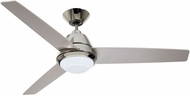 Emerson Ceiling Fans CF370PN Geode Modern Polished Nickel LED 52  Home Ceiling Fan
