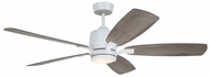 Emerson Ceiling Fans CF5300SW Ion Eco Satin White LED 54 Home Ceiling Fan