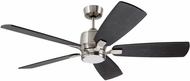 Emerson Ceiling Fans CF5309BS Ion Contemporary Brushed Steel LED Exterior 42  Home Ceiling Fan