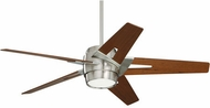 Emerson Ceiling Fans CF550LWABS Luxe Eco Contemporary Brushed Steel LED 54 Ceiling Fan