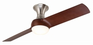 Emerson Ceiling Fans CF560BS Duo Modern Brushed Steel LED 54 Home Ceiling Fan