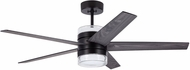 Emerson Ceiling Fans CF575BQ Lucere Modern Barbeque Black LED 52  Ceiling Fan