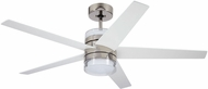 Emerson Ceiling Fans CF575PN Lucere Modern Polished Nickel LED 52  Ceiling Fan