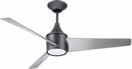 Emerson Ceiling Fans CF605GRT Riptide Contemporary Graphite LED Exterior 52  Home Ceiling Fan